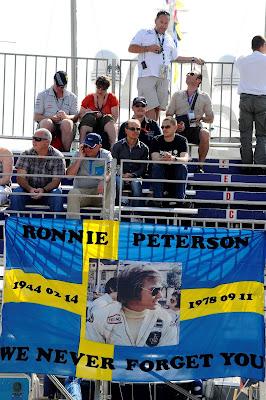 болельщики Ронни Петерсона на Гран-при Монако 2012