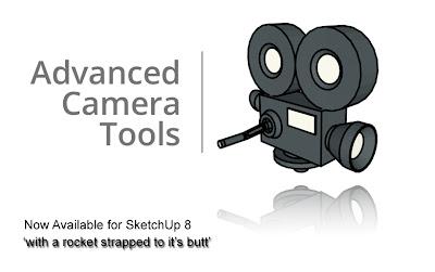 sketchupartists: advanced camera tools for sketchup 8