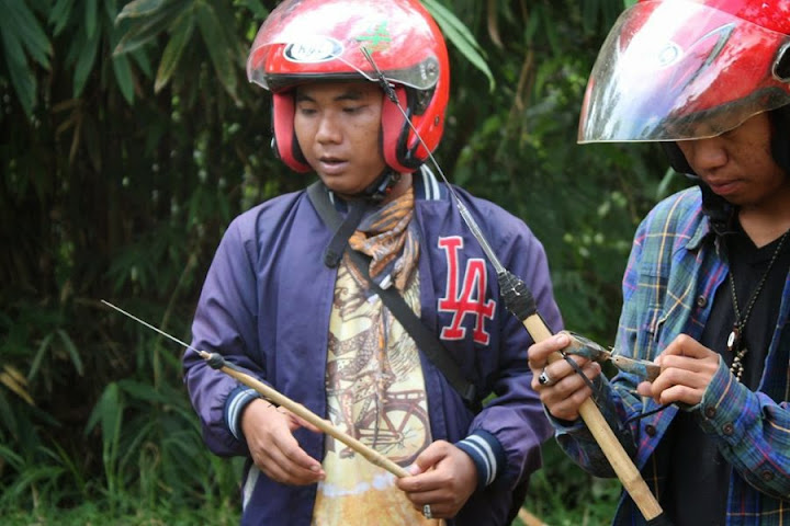 pamulu alat penangkap ikan di sungai batetangnga binuang polman sulbar