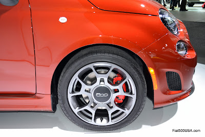 Fiat 500T Cattiva wheel