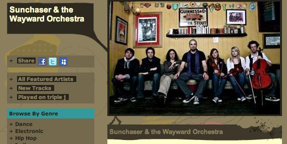 Sunchaser & the Wayward Orchestra