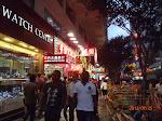 Nathan Road in Tsim Sha Tsui near our hotel
