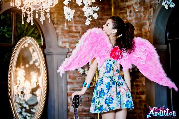 Hồng Quế quyến rũ với cánh thiên thần New Audition 3