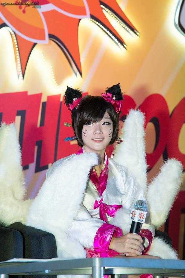Miyuko khoe cosplay Ahri tại STGCC 2013 - Ảnh 4