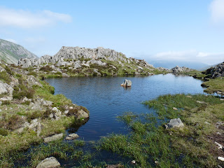 Haystacks Summit Tarn.