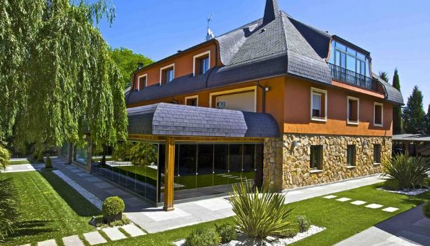 Sergio Ramos mansion in Madrid