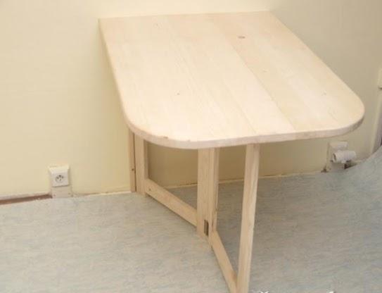 Как сделать маленький раскладной столик своими руками