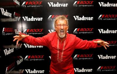 Эдди Джордан на афтерпати F1 Rocks после Гран-при Индии 2011