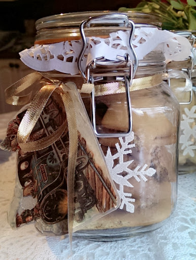 Norwegian Christmas cookie recipe and DIY gift tags