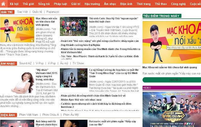 Template blogspot tin tức chuẩn seo thấy giền