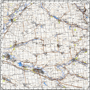 Map 100k--m37-122--(1987)
