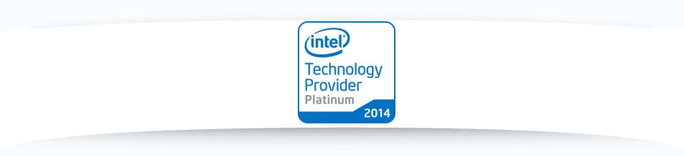 Intel Technology Provider Platinum