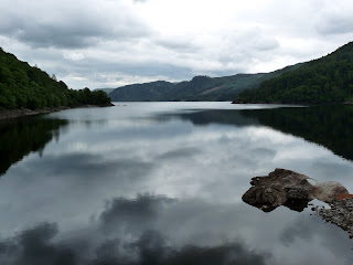 More reflections on Thirlmere. I bet it would be a nice walk to go all around the reservoir.