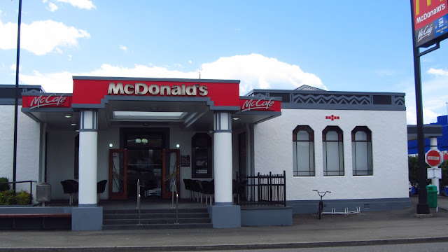 Even the McDonald's is Art Deco in Napier