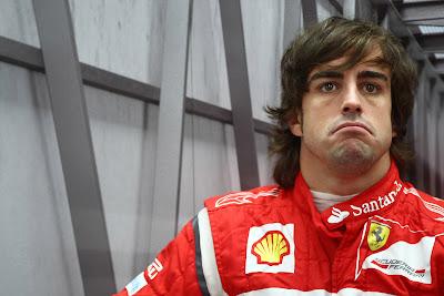 ансмайл Фернандо Алонсо на Гран-при Кореи 2011