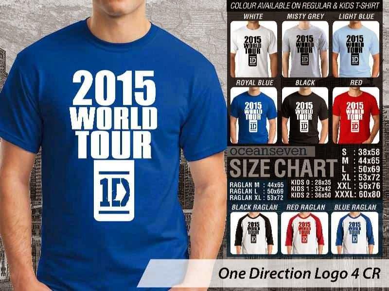 Jual kaos 1D One Direction 23 Musik Boy Band