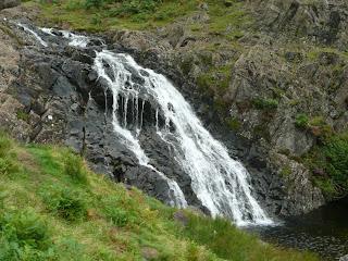 Sourmilk Gill Waterfall on return journey