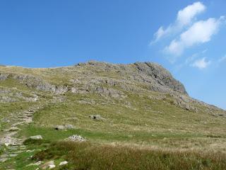 Descending from Harrison Stickle