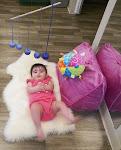 LePort Preschool Huntington Beach - Baby watching mobile at Montessori daycare