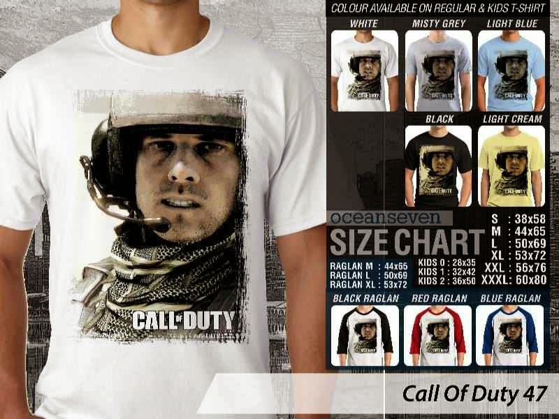 KAOS cod Call Of Duty 47 Game Series distro ocean seven