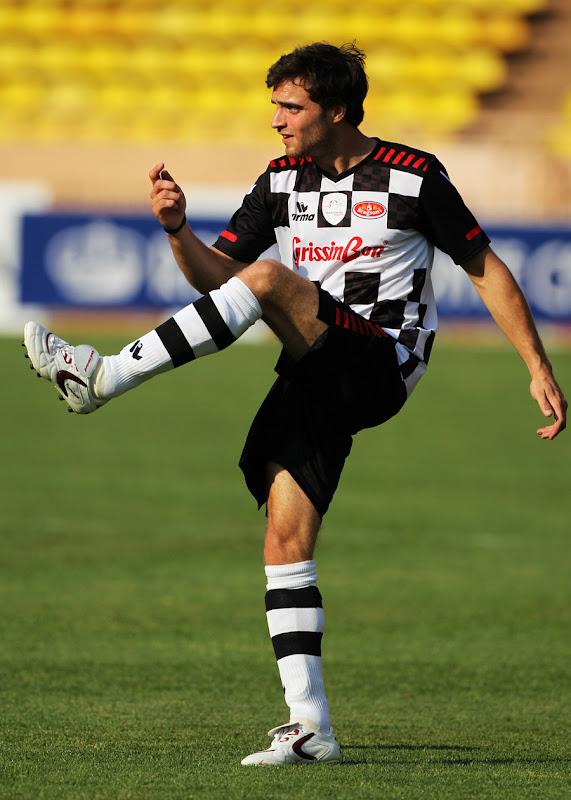 Жером Д'Амброзио на благотворительном футбольном матче в Монте-Карло 2011