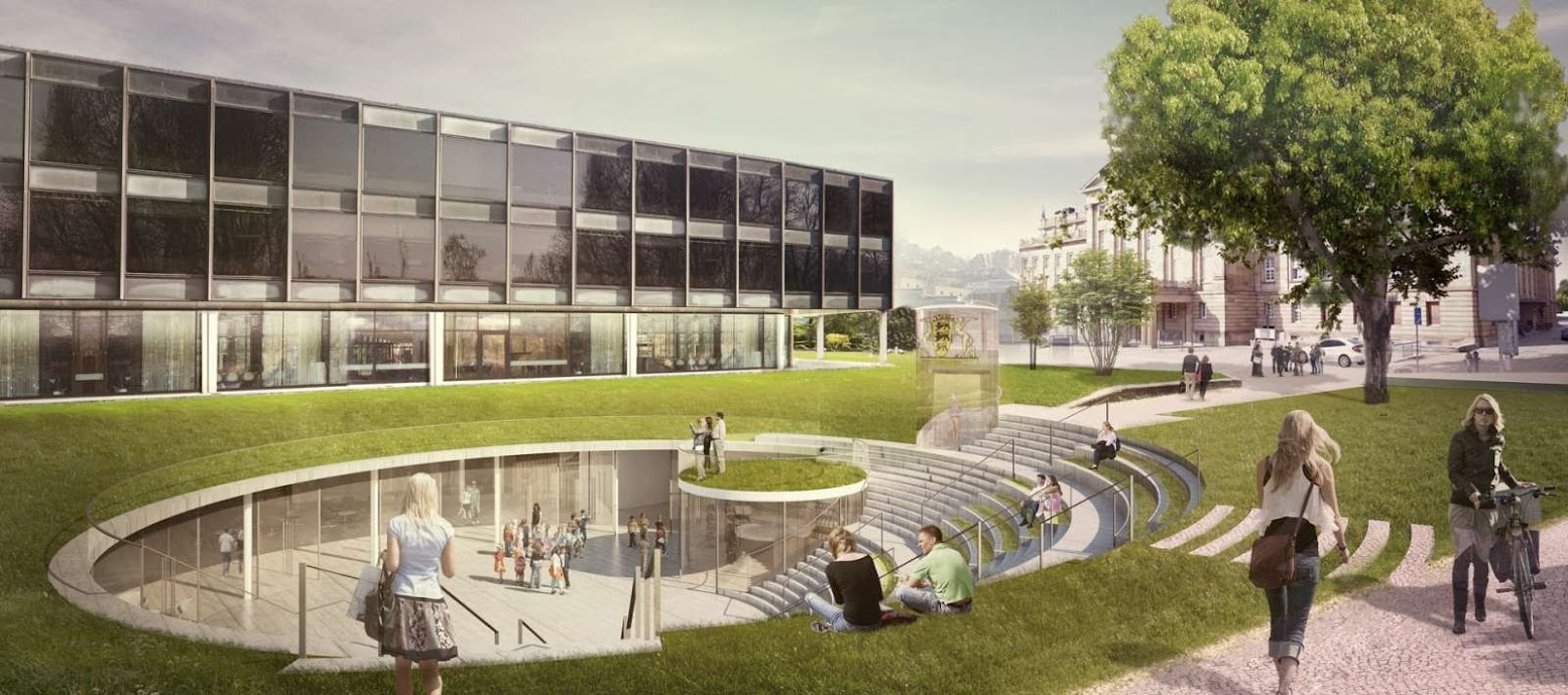 Stoccarda, Germania: [HENNING LARSEN ARCHITECTS WINS CITIZEN AND MEDIA CENTRE COMPETITION]