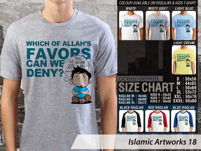 KAOS Muslim Which of allahs favors can we deny? Islamic Artworks 18 distro ocean seven