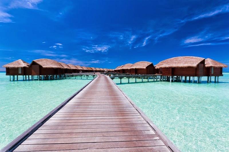 Anantara Dhigu Resort & Spa水上屋