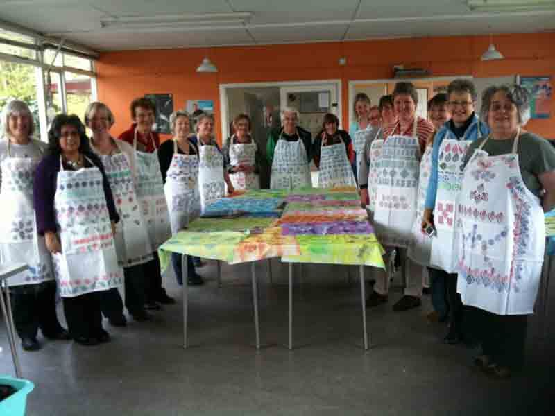 Colouricious Block Printing Workshops