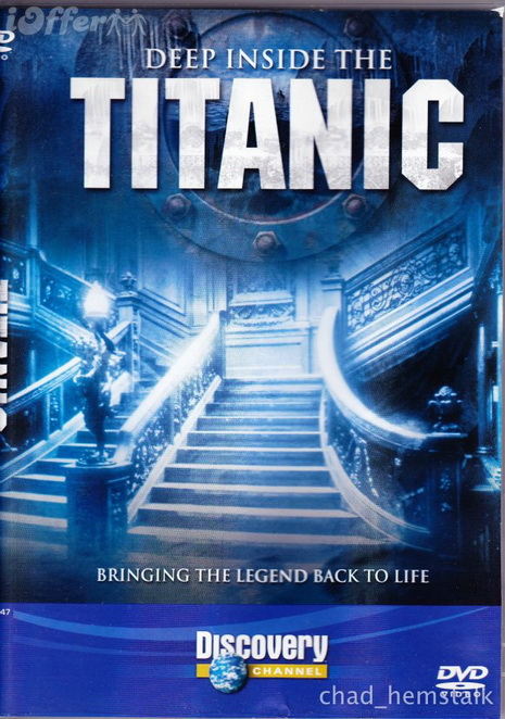 We wnêtrzu Titanica / Deep Inside the Titanic (2011) PL.TVRip.XviD / Lektor PL