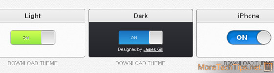 jQuery Toggles
