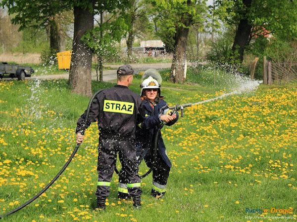 Pokazy strażackie w Fiszewie