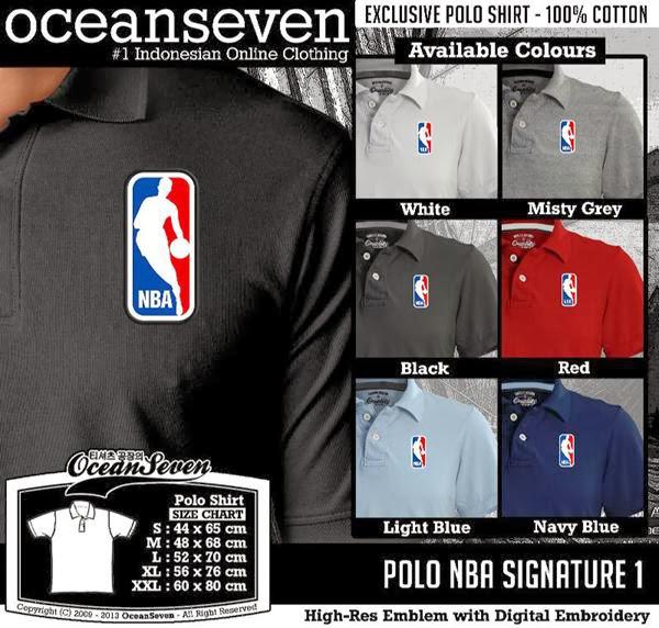 POLO NBA Signature distro ocean seven
