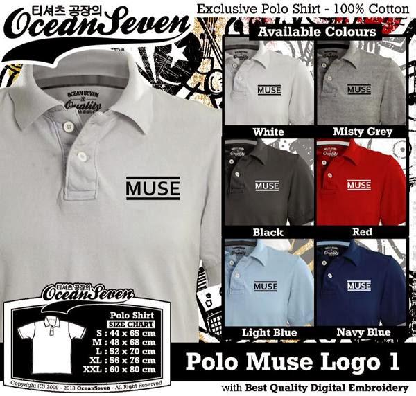 POLO Muse Logo distro ocean seven