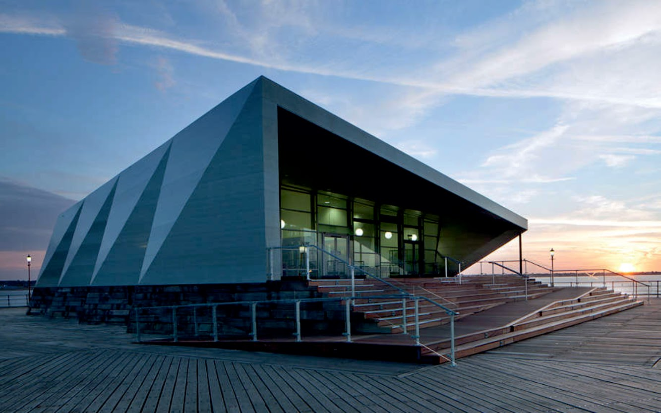 9 Clifftown Parade, Southend-on-Sea, Essex County Ss1 1DP, Regno Unito: Cultural Centre by White Arkitekter