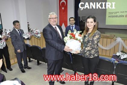 Çankırı'da Aday Öğretmenlere Bilgilendirme Toplantısı