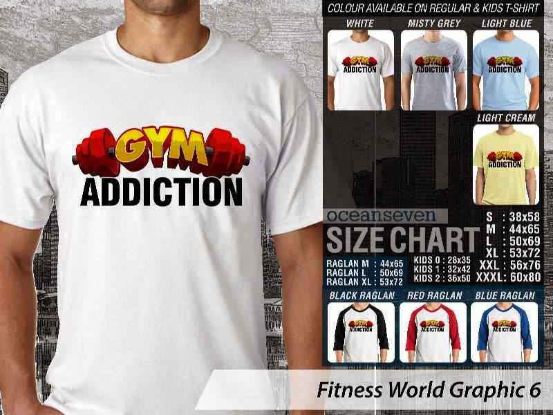 KAOS Gym Addiction Fitness & Gym Series distro ocean seven