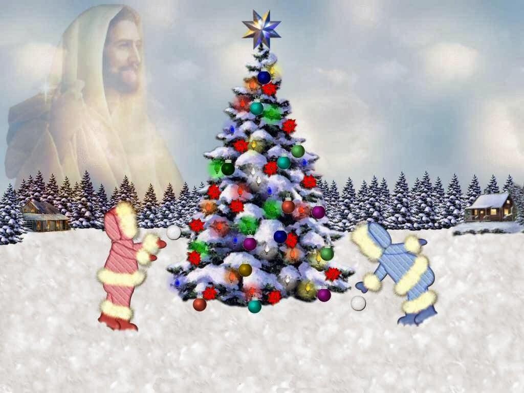 Paisajes de Navidad hermosos. Estampas navideñas con