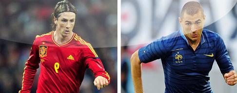 España vs. Francia en VIVO - 21 de Junio - Euro 2012