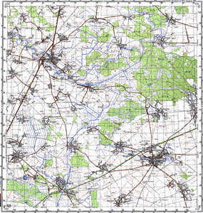 Map 100k--m36-039--(1987)