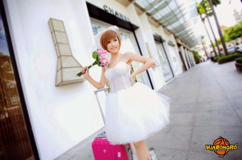 Vẻ đẹp dễ thương của Miss Bóng Rổ 2013 Quỳnh Nhi - Ảnh 7