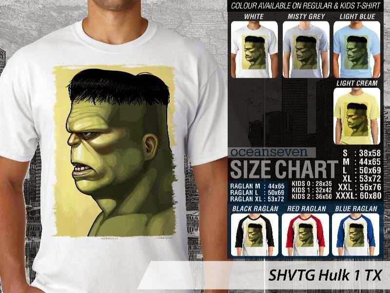 Kaos Superhero Hulk 1 TX distro ocean seven