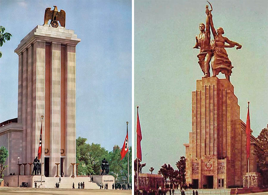 Nazi architecture vs soviet stormfront for Architecture nazi