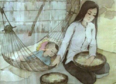 Chùm thơ hay viết về lời ru của Mẹ, con mãi không quên