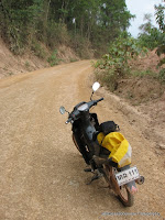 My Bike and the Dirt Road