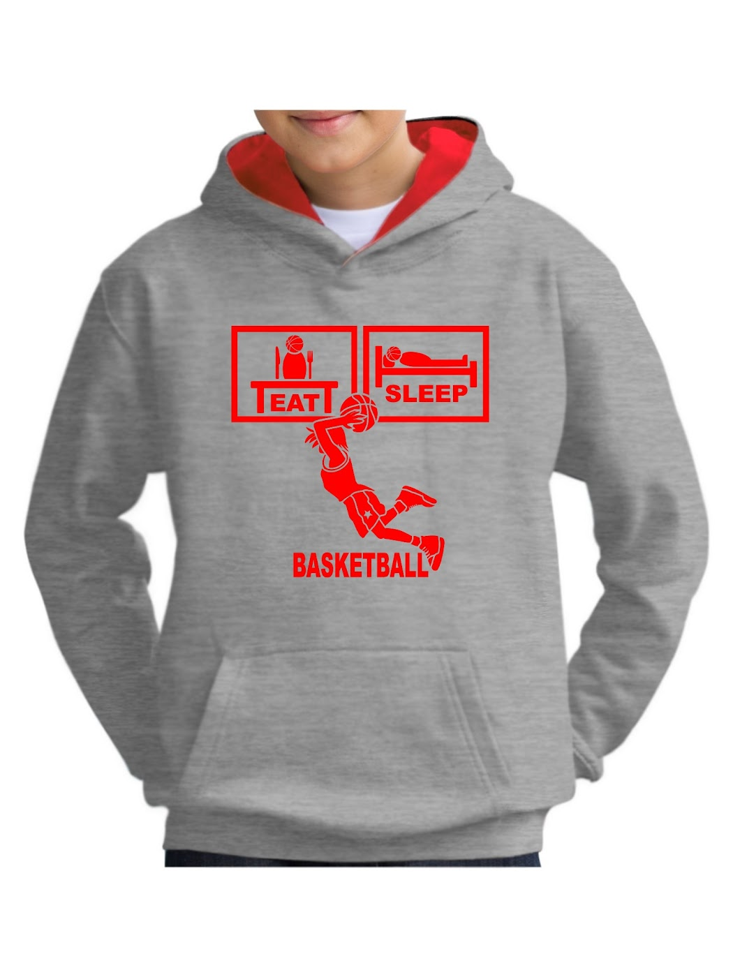 basketball Hoodies & Sweatshirts with your own message – as unique as you Hoodies & Sweatshirts on the topic of