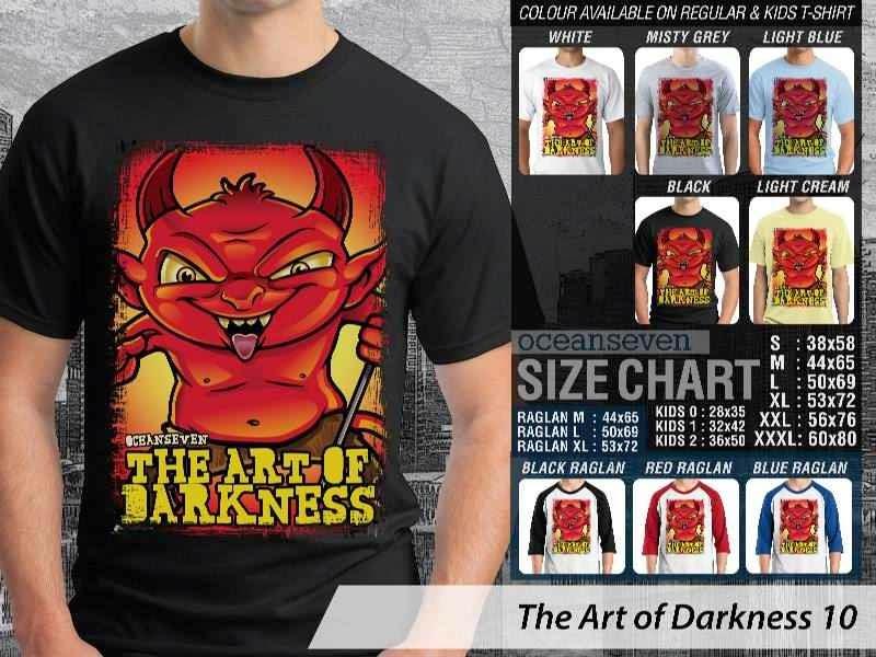 KAOS keren iblis setan satan The Art of Darkness 10 distro ocean seven