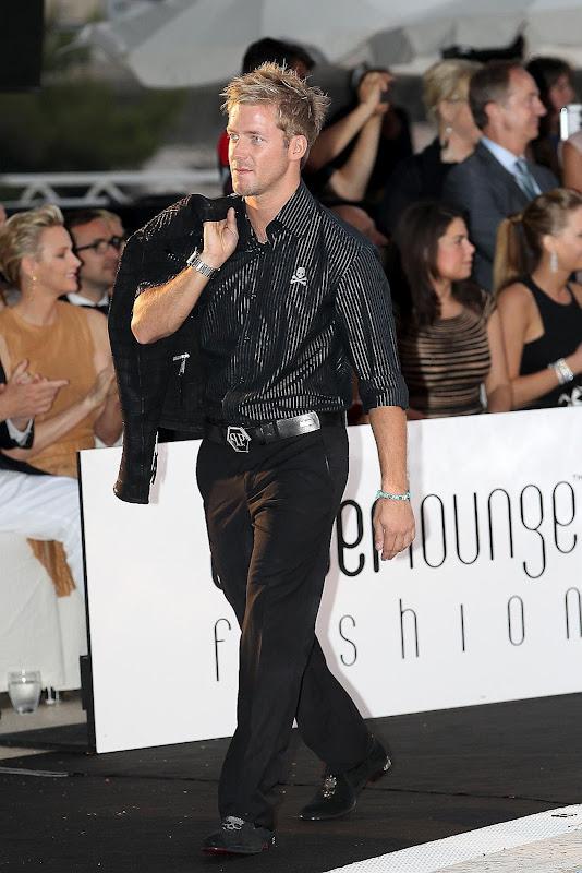 Сэм Берд на Amber Fashion Show на Гран-при Монако 2012