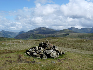 Gavel Fell Summit with Robinson, Fleetwith Pike, Red Pike, Starling Dodd and Pillar.