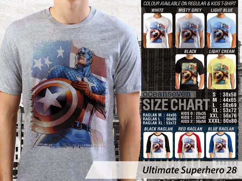 KAOS captain america 28 Ultimate Superhero distro ocean seven